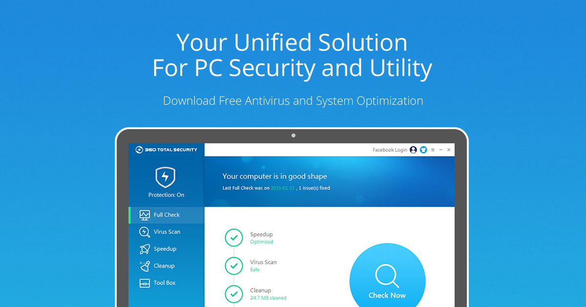 360 Total Security Free Antivirus Protection Virus Scan Removal For Windows Mac And Android